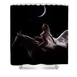 Midnight Sojourn Shower Curtain