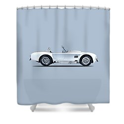 The Cobra Shower Curtain by Mark Rogan