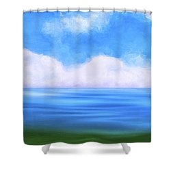 Sea Dreams Shower Curtain by Mark E Tisdale