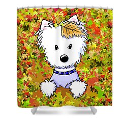 Autumn Jewel Shower Curtain