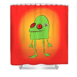 Introducing Obo Shower Curtain