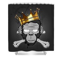 The Voodoo King Shower Curtain