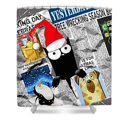 Christmas Special Shower Curtain