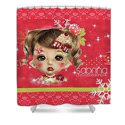 Sabrina - Elf  Shower Curtain