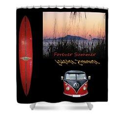 Forever Summer 1 Shower Curtain