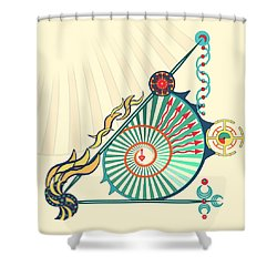 Sailing Infinity Shower Curtain
