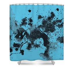Splartch Shower Curtain by Marc Philippe Joly