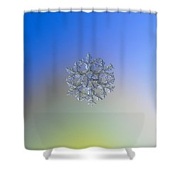 Snowflake Photo - Gardener's Dream Alternate Shower Curtain