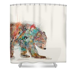 In Nature Bear Shower Curtain