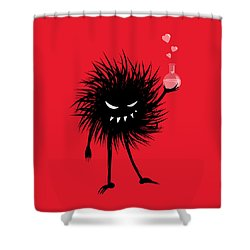 Evil Bug With A Love Potion Shower Curtain