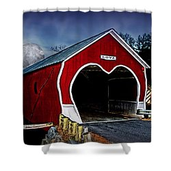 Shower Curtain featuring the photograph Love Is In The Air by DJ Florek