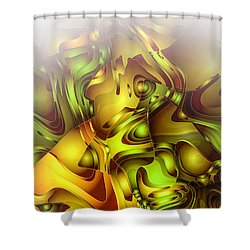 The Sweet Fantasy Shower Curtain by Moustafa Al Hatter