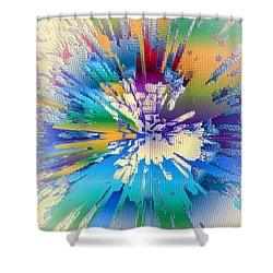 Coloratura Soprano Shower Curtain