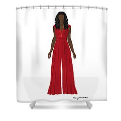 Shower Curtain featuring the digital art Destiny by Nancy Levan