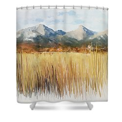Not Far Away Shower Curtain