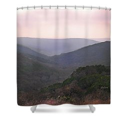 Shower Curtain featuring the photograph Rolling Hill Country by Felipe Adan Lerma