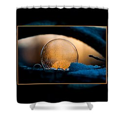 Captured Sunrise Shower Curtain