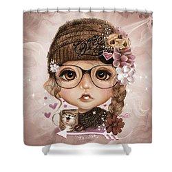 Java Joanna Shower Curtain