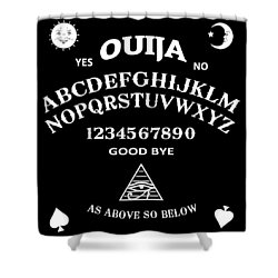 Ouija Shower Curtain
