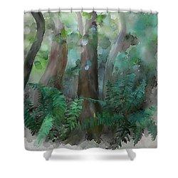 Jungle Shower Curtain by Ivana Westin
