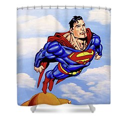 Superman Shower Curtain