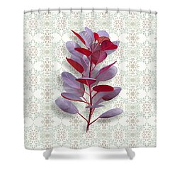 Royal Purple Shower Curtain
