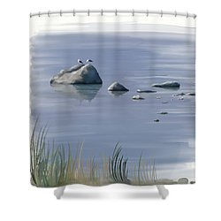 Gull Siesta Shower Curtain
