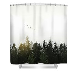 Shower Curtain featuring the photograph Forest by Nicklas Gustafsson