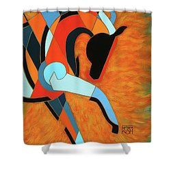 Sundancer Of The Fire I Shower Curtain
