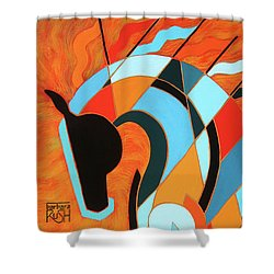 Sundancer Of The Fire II Shower Curtain