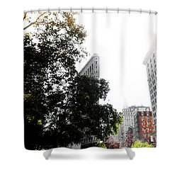Shower Curtain featuring the photograph Flatiron Autumn  by Nicklas Gustafsson