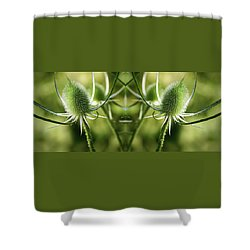 Wonderful Teasel - Shower Curtain