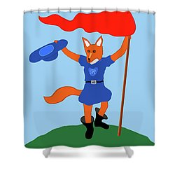 Reynard The Fairy Tale Fox Shower Curtain