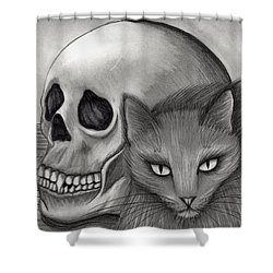 Witch's Cat Eyes Shower Curtain