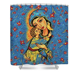 Mother Temple Shower Curtain