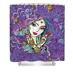 Hands Of India Shower Curtain