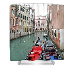 Gondola Love Shower Curtain