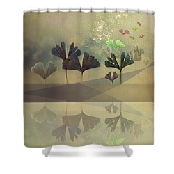 Hope Shower Curtain by AugenWerk Susann Serfezi