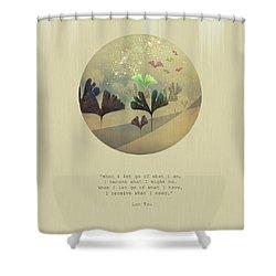 Phoenix-like Shower Curtain by AugenWerk Susann Serfezi