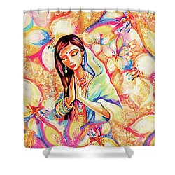 Little Himalayan Pray Shower Curtain