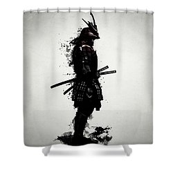 Armored Samurai Shower Curtain