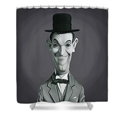 Celebrity Sunday - Stan Laurel Shower Curtain