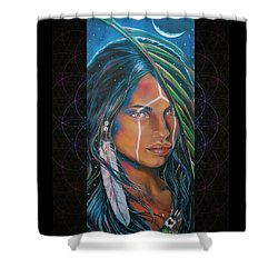 Shamanic Feelher Shower Curtain