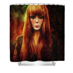 Star Dreamer Shower Curtain