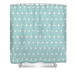 Concorde Jet Airliner - Sky Shower Curtain
