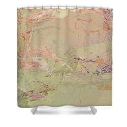 Wabi Sabi Ikebana Romantic Fall Shower Curtain