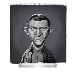 Celebrity Sunday - Steve Mcqueen Shower Curtain