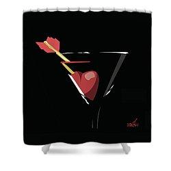 Heartini Shower Curtain