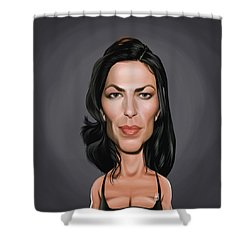 Celebrity Sunday - Claudia Black Shower Curtain