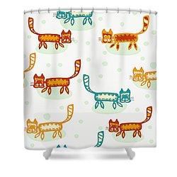 Matthieu 8 20 Shower Curtain